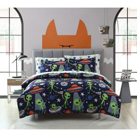 Artie the Friendly Alien Comforter Set by Kiki Eco Friendly Comforter