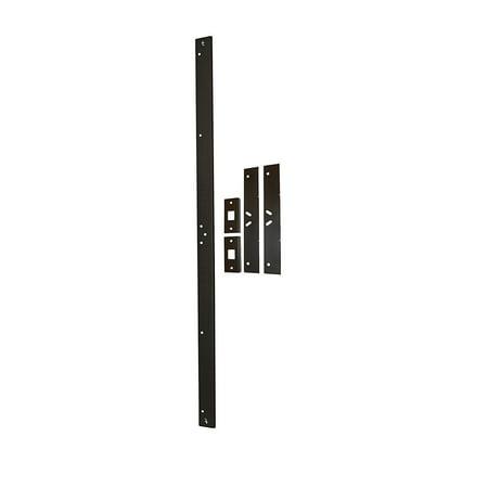 Door Armor MAX – Complete Door Reinforcement Set For Jamb, Frame, Strike Plate — DIY Home Door Security – Aged (High Security Doors)
