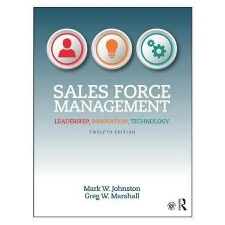 Sales Force Management  Leadership  Innovation  Technology