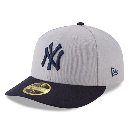 1d07255d715 New York Yankees New Era 2018 Players  Weekend Low Profile 59FIFTY Fitted  Hat - Gray Navy - Walmart.com