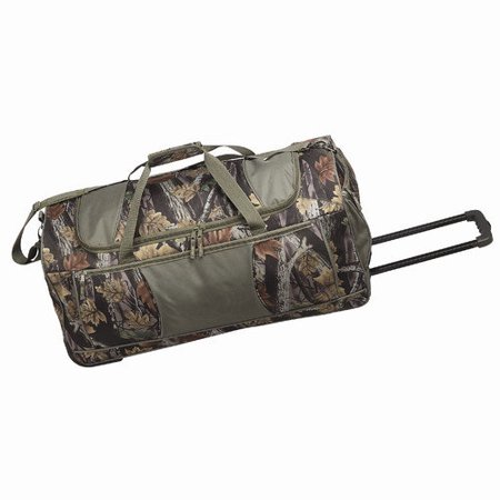 Goodhope Camouflage Rolling Duffel Bag