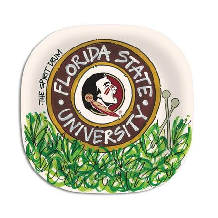 Florida State University Melamine Plate