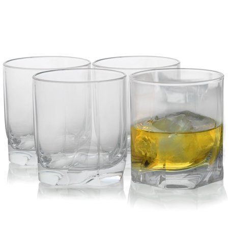 Waterford Double Old Fashioned (Pasabahce Luna 4 Piece 12.75 oz Double Old Fashioned Glass)