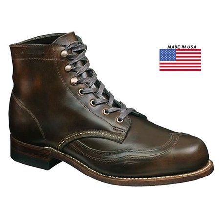 e0f4bfd8538 Wolverine W05342: 1000 Mile Men's Brown Addison Wingtip Boots (10 D(M) US  Men)