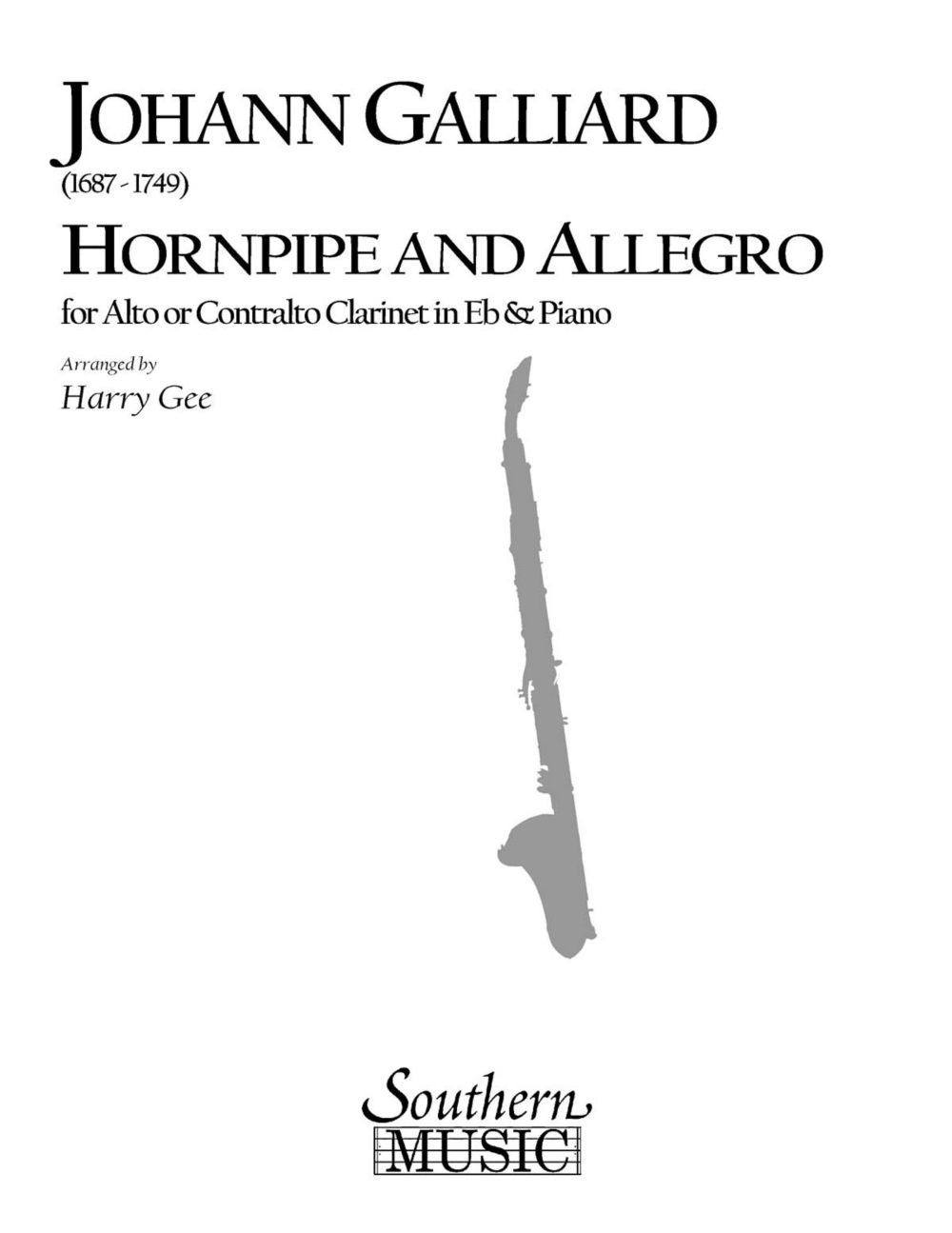 Southern Hornpipe and Allegro (Woodwind Solos & Ensemble Alto Clarinet Music) Southern... by Southern