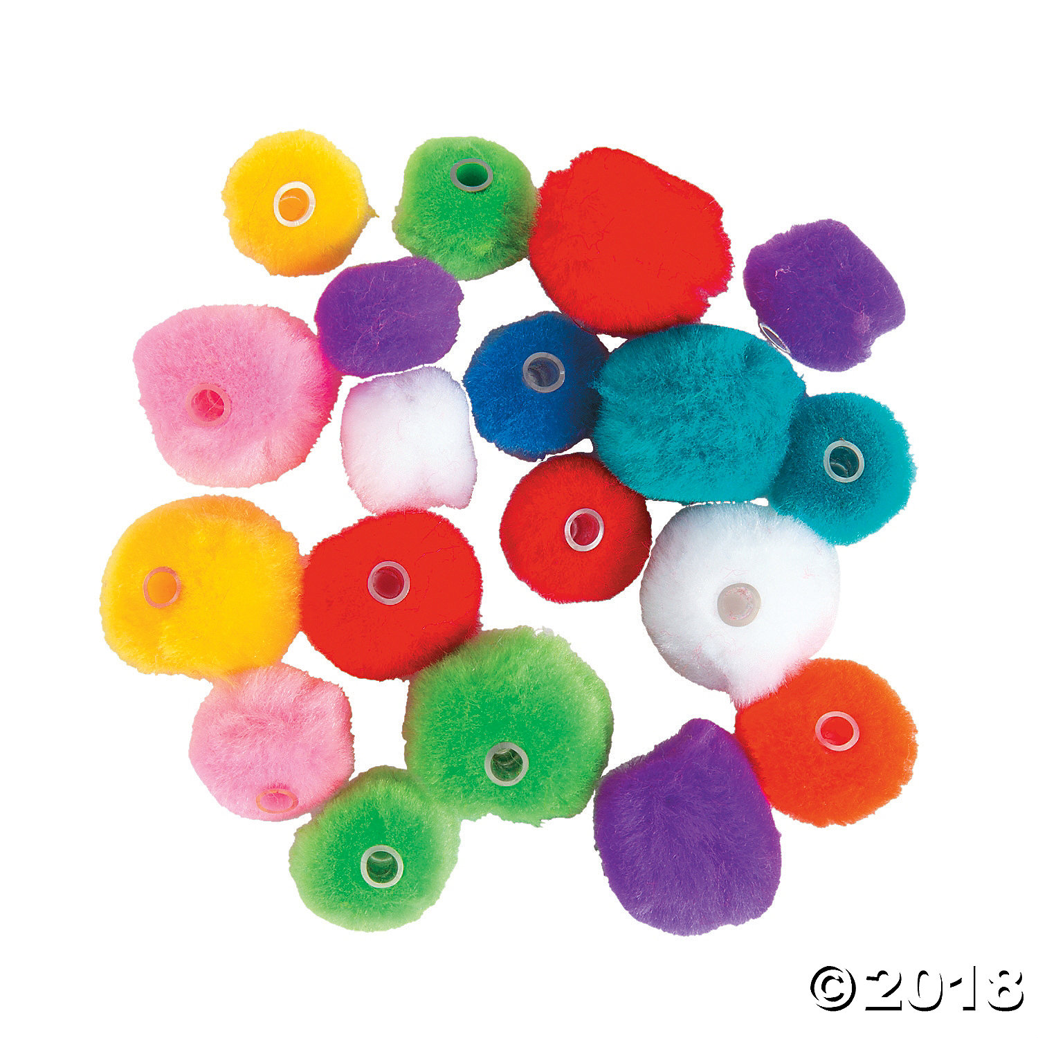Pom-Pom Beads(pack of 3)