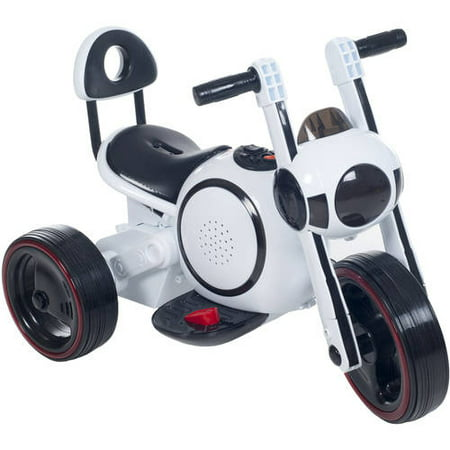 3 Wheel Led Mini Motorcycle Trike Ride On Toy For Kids By Rockin