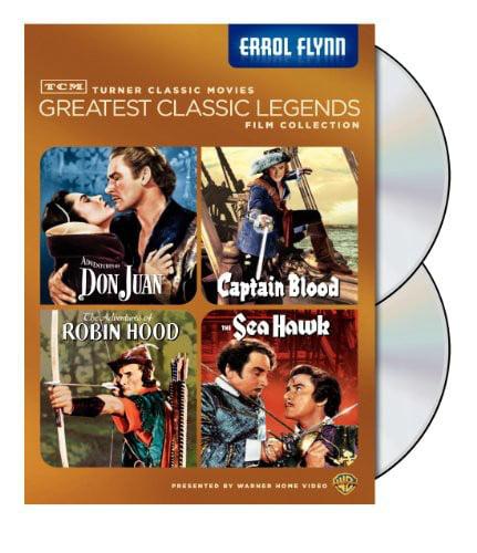 TCM Greatest Classic Legends Film Collection: Errol Flynn