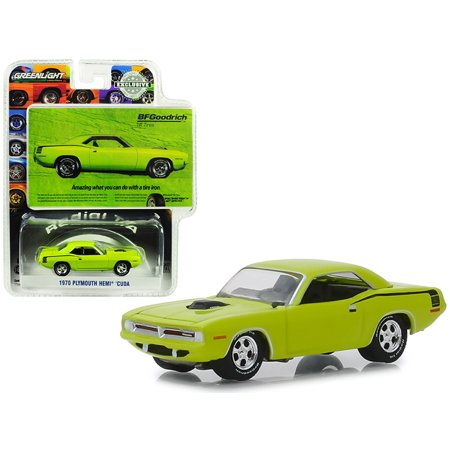 1970 Plymouth HEMI Barracuda Lime Green \Amazing What You Can Do With A Tire Iron\