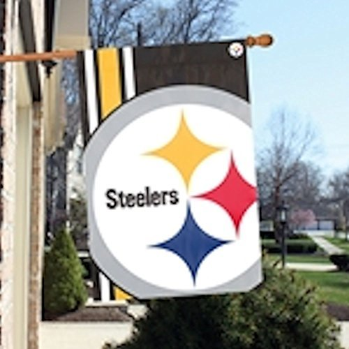 Party Animal Pittsburgh Steelers Bold Logo Banner