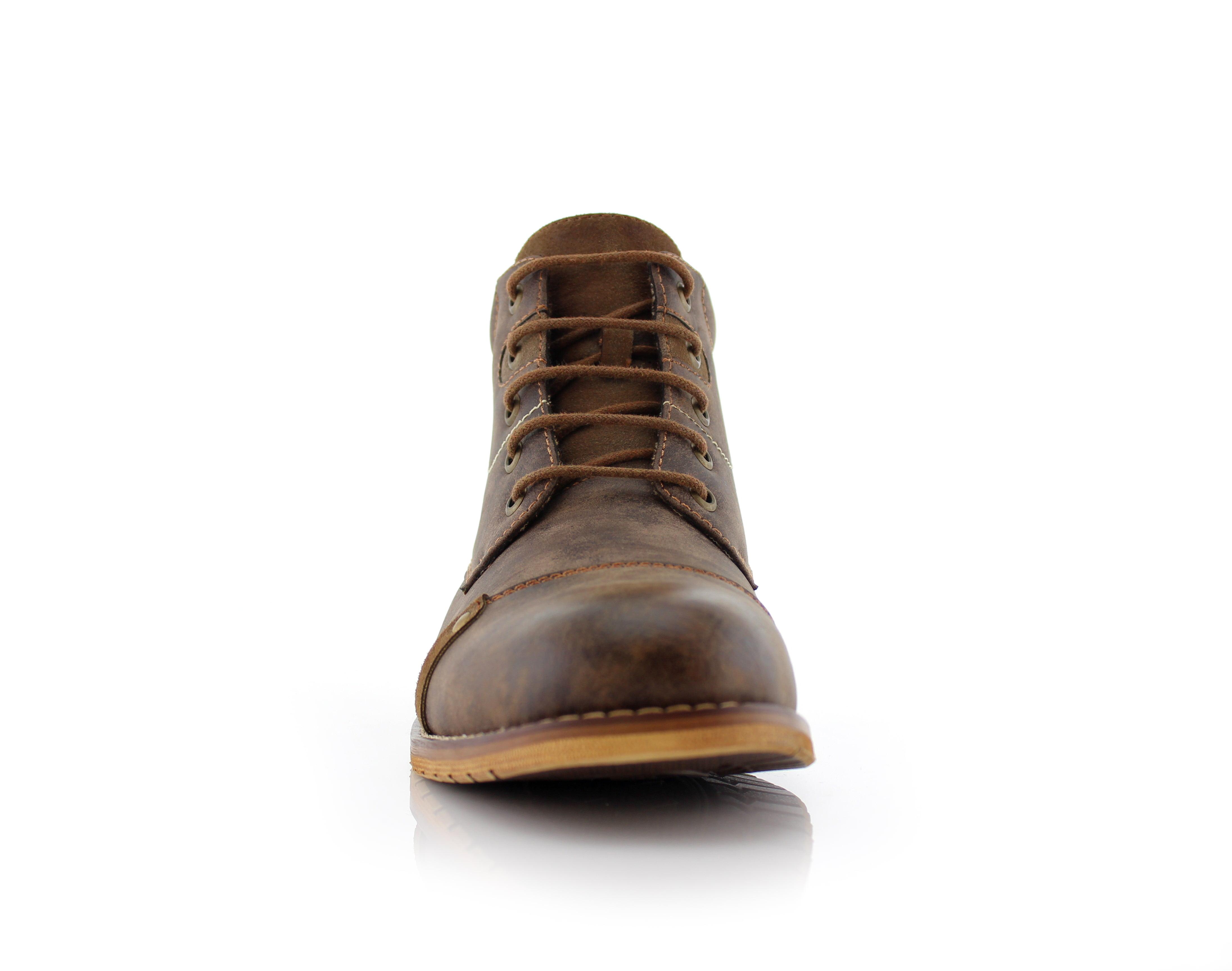 Ferro Aldo Colin MFA806033 Mens Stylish Mid Top Boots for Work Or Casual Wear