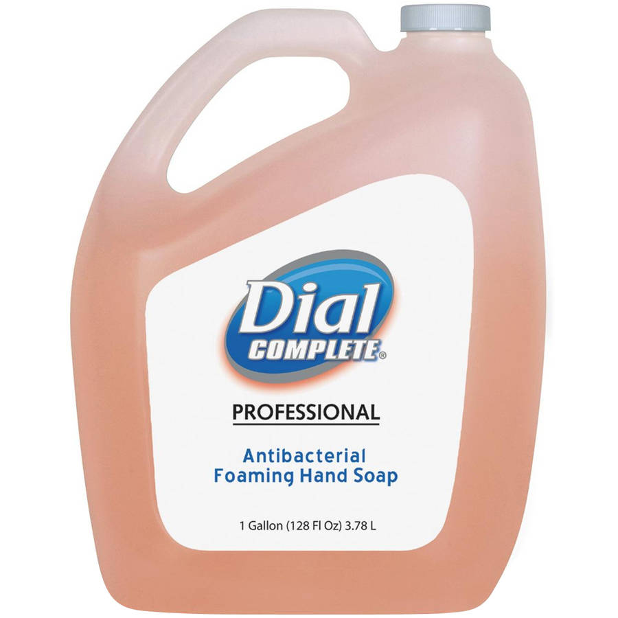 Dial Complete Professional Antibacterial Foaming Hand Soap, 1 gal