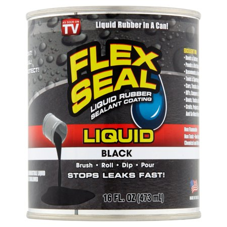 Flex Seal Liquid Rubber In A Can 16 Oz Black