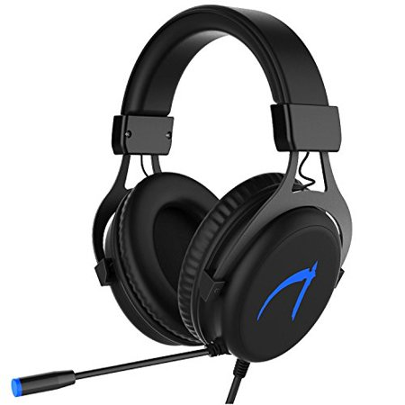 MUTOUREN Gaming Headset 7.1 Stereo Surround Sound 57mm Drivers Audio Headsets USB PC Gaming Headphones with