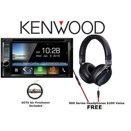 Kenwood Excelon Ddx6903s W  Kh Kr900 Wvga Double Din Dvd Receiver With Free On Ear Headphones