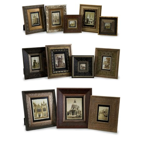Set of 12 Art Deco Assorted-Size Wooden Traditional Photo Picture ...