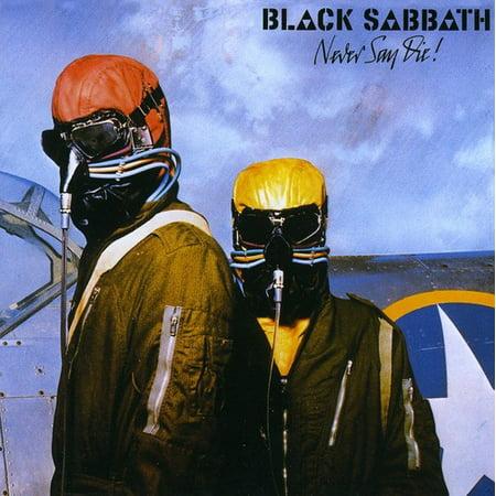 Never Say Die (CD) (Remaster) (Black Sabbath Never Say Die Cover Art)