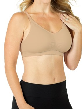58b8f0034b218 Product Image Maternity to Nursing with Soft Pad Removeable Inserts  Seamless Bra