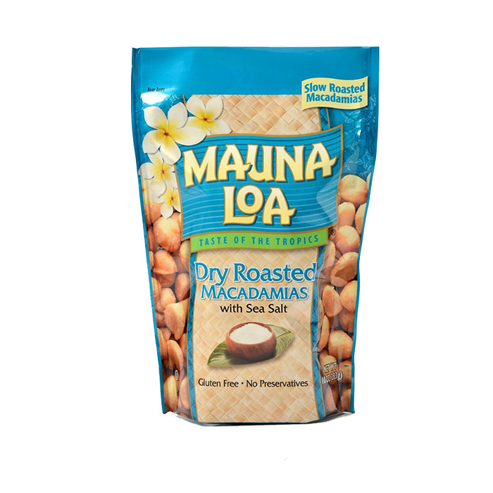 Mauna Loa Dry Roasted Macadamia Nuts with Sea Salt, 10 oz.