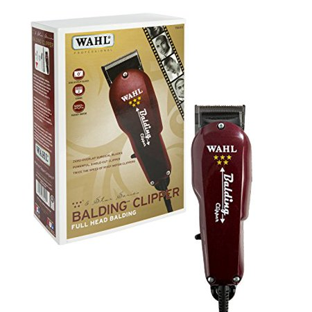 Wahl Professional 5 Star Balding Clipper  8110   Great For Barbers And Stylists   Cuts Surgically Close For Full Head Balding   Twice The Speed Of Pivot Motor Clippers   Accessories Included