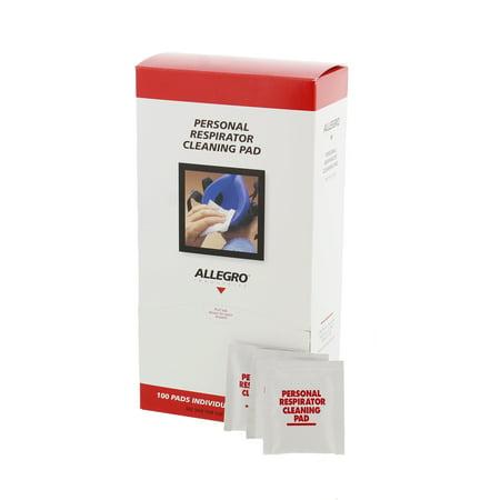 Allegro 1001 Respirator Cleaning Pads  100 Per Box