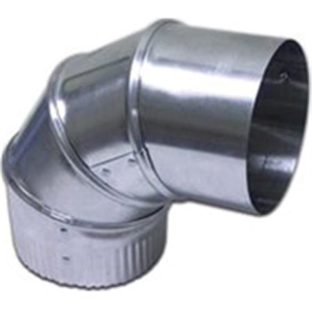 - Lambro 2310 Adjustable 90 Degree Duct Elbow 4 Inch Aluminum