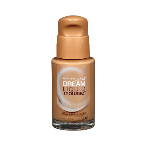 Maybelline New York Dream Liquid Mousse Foundation, Sandy Beige Medium 1, 1 Fluid Ounce