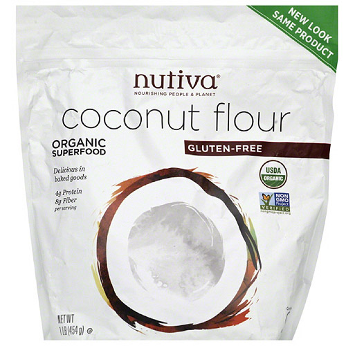 Nutiva Coconut Flour, 1 lb (pack of 6)