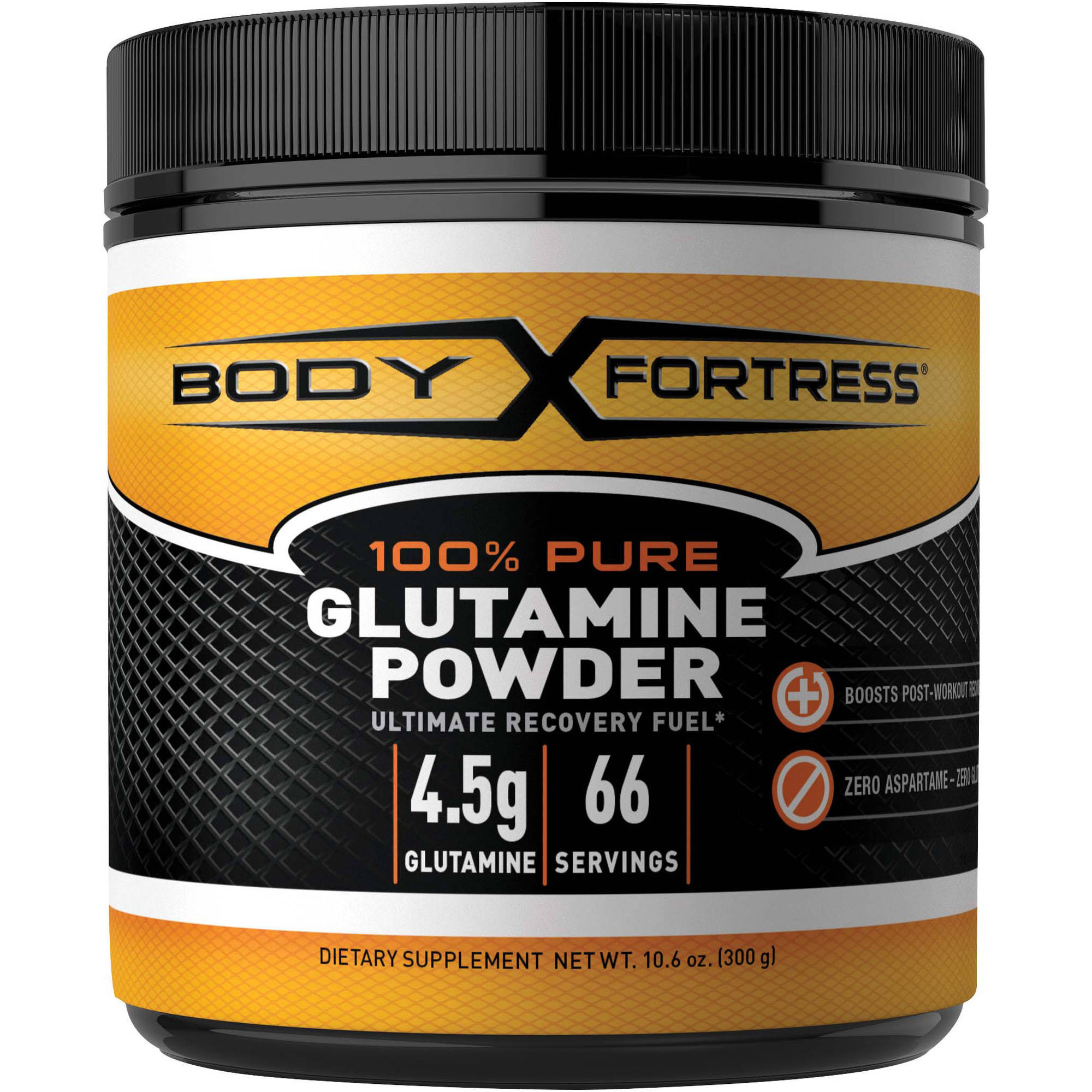Body Fortress L-Glutamine Powder, 10.6 oz