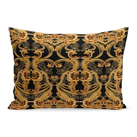 ECCOT Gothic Baroque Pattern Victorian Pillowcase Pillow Cover Cushion Case 20x30 inch (Gothic Victorian)