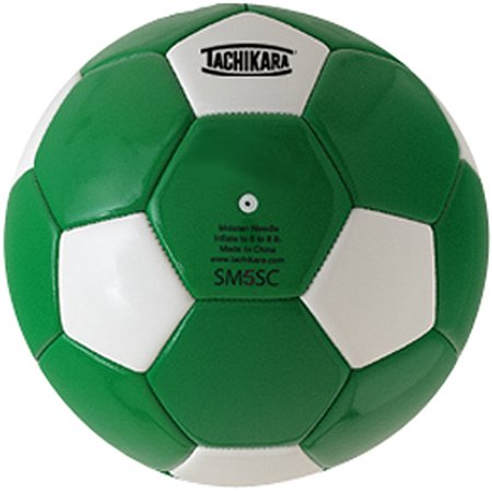Tachikara Recreational Machine Stitched Soccer Ball, Size 5 (Plush Soccer Ball)