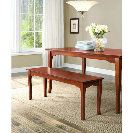 Better homes and gardens ashwood road dining bench brown for Ashwood homes