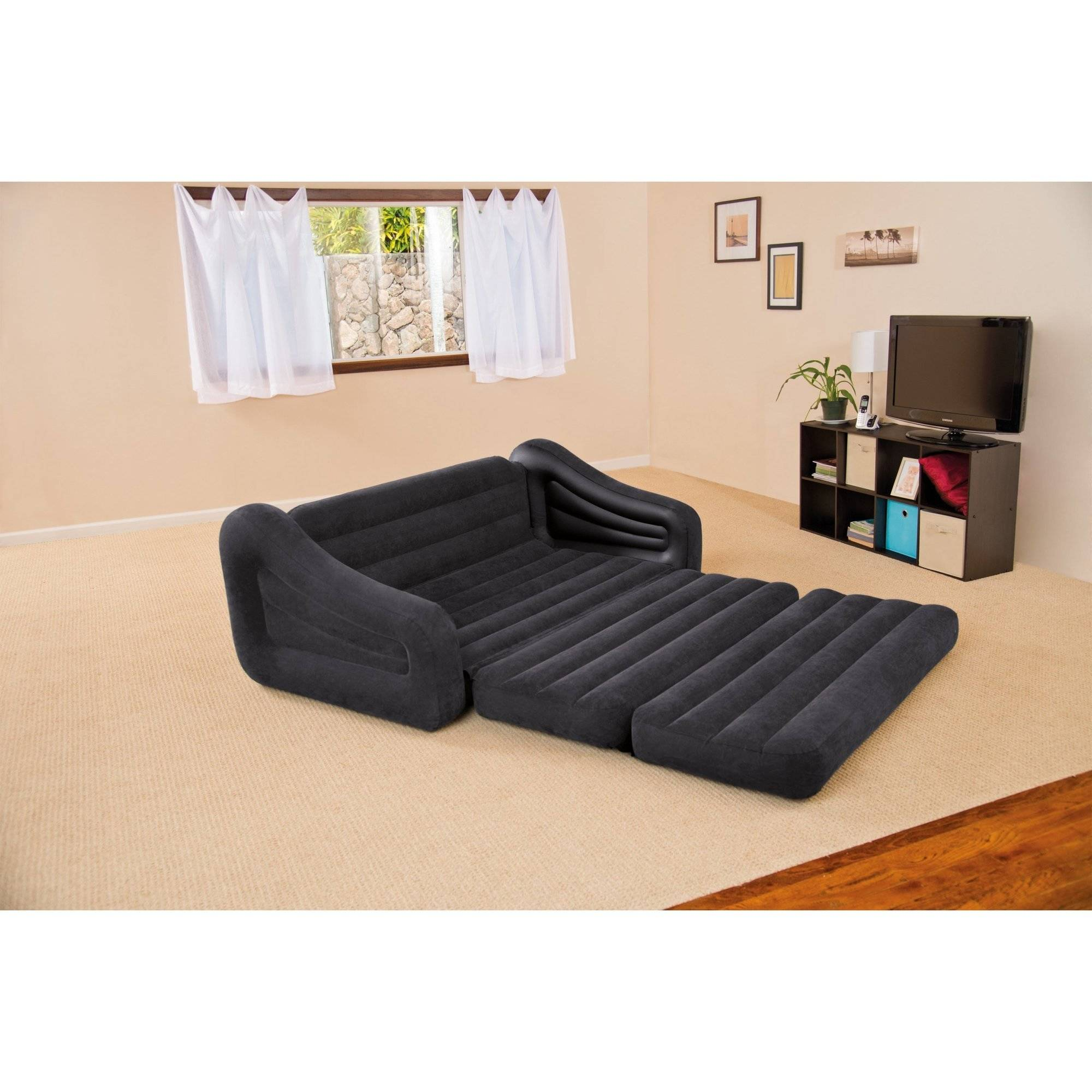 Intex Queen Inflatable Pull Out Sofa Bed   Walmart.com
