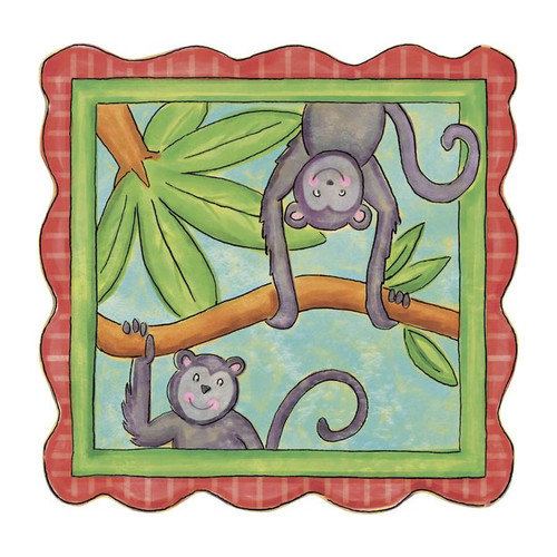 4 Walls Monkey Panel Wall Mural