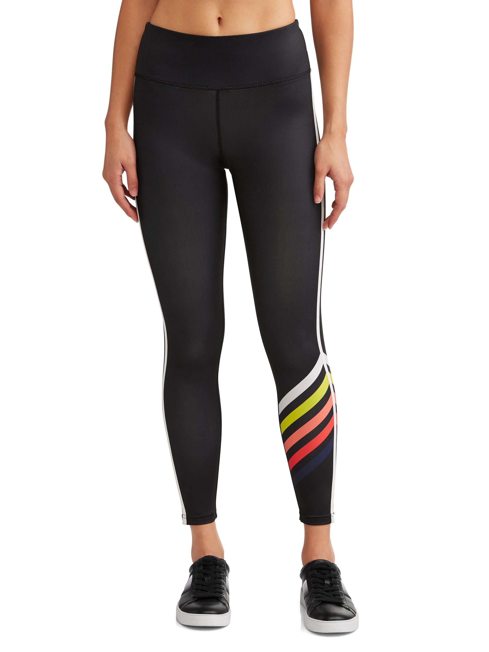 Graphic Stripe Legging Women's (Caviar)