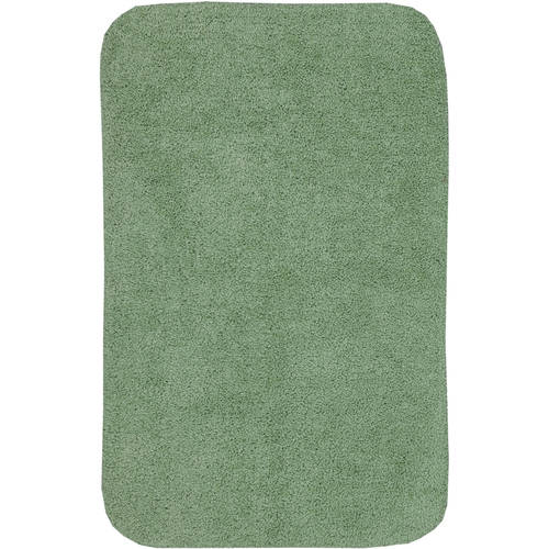 Beautiful Mainstays Basic Bath Rug, Solid