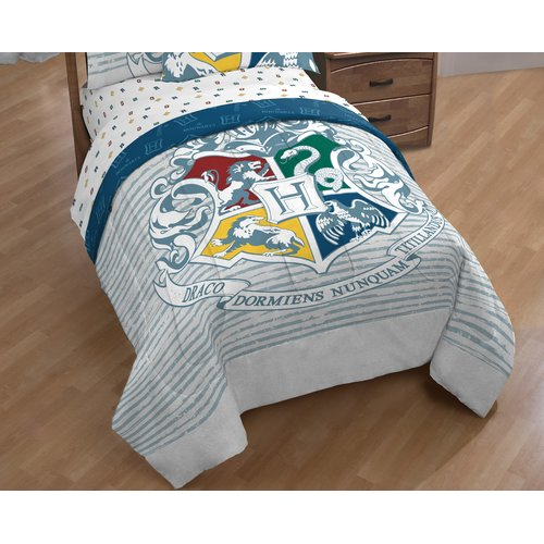 Warner Brothers Harry Potter Witchcraft and Wizardry Single Reversible Comforter