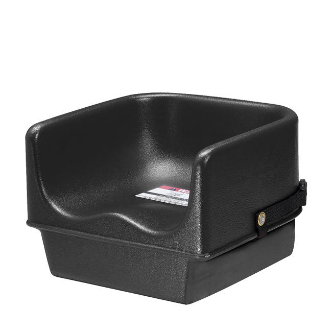 Single Booster Seat Black Walmart Com
