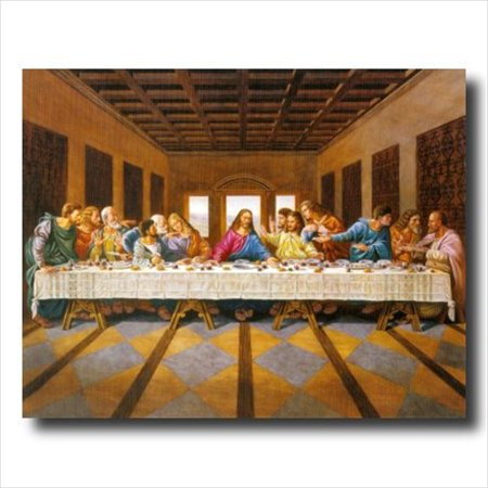 Jesus Christ The Last Supper Wall Picture Art (Last Supper Collector Plate)