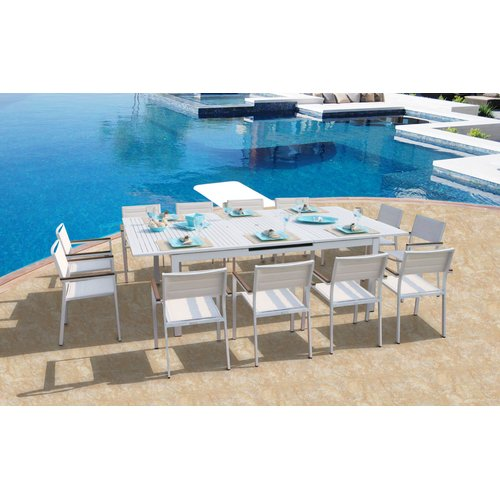 Orren Ellis Rizzuto 13 Piece Dining Set