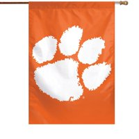 "Clemson Tigers WinCraft 28"" x 40"" Big Logo House Flag"