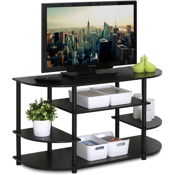 Tv Stand Designs Images : Furinno jaya simple design corner tv stand ex