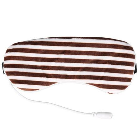 Garosa Voyage Eyeshade, USB Chauffage Vapeur Eyeshade Lavande Masque Pour Les Yeux Massager Pour Les Yeux Massager Sommeil Voyage Portable, Eyeshade - image 2 de 4