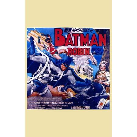 Batman and Robin POSTER Movie H Mini Promo](Batman And Robin Baby Grow)