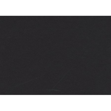 Smooth Black 16x20 Backing Board - Uncut Photo Mat (Single Matboard)