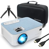 "FANGOR Bluetooth Projector Supprot 1080P,With 200"" Projection Size,Ideal For Home Theater"