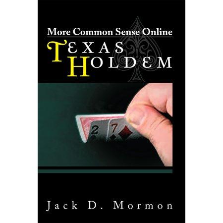 More Common Sense Online Texas Holdem - eBook