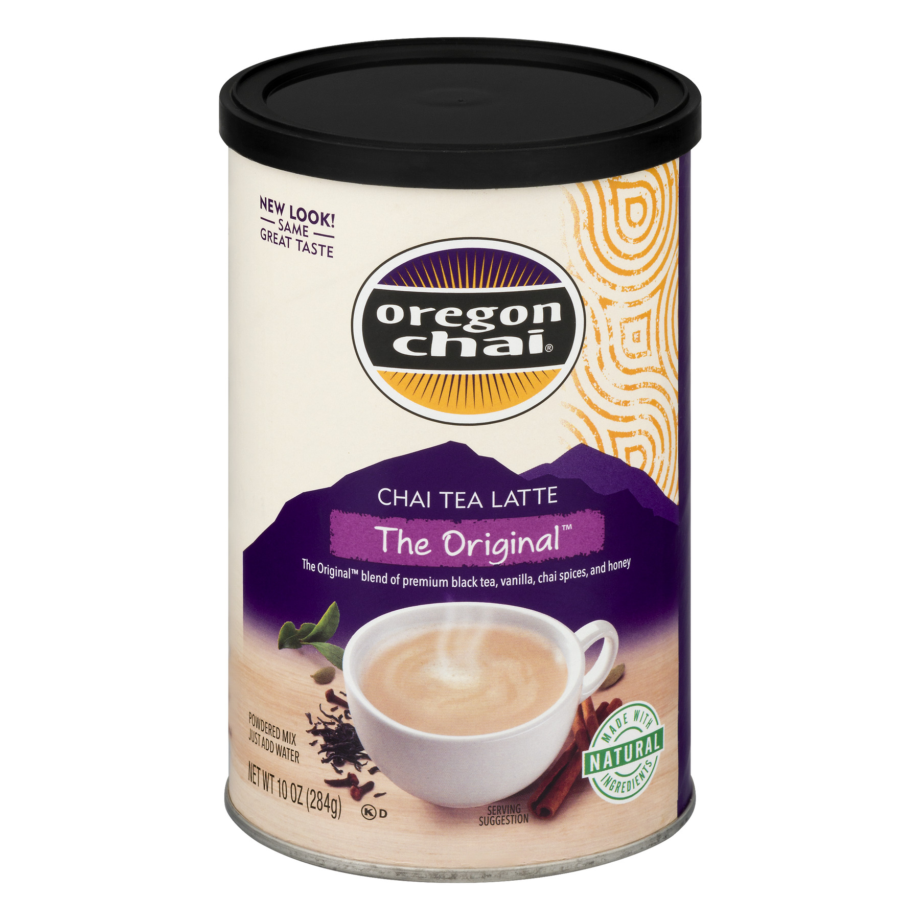 (24 Pack) Oregon Chai The Original Chai Tea Latte Powdered Mix, 10 oz