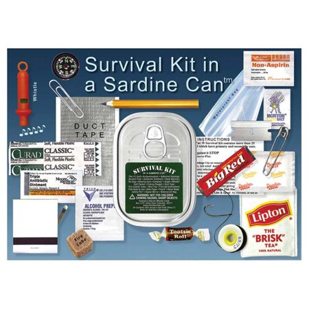 WHISTLE CREEK SURVIVAL KIT IN A SARDINE - New Dad Survival Kit