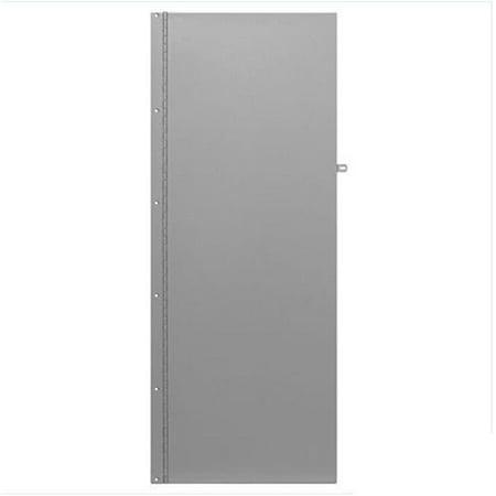 Rear Cover for Data Distribution Aluminum Boxes Hasp On Data Distribution - Rear Column